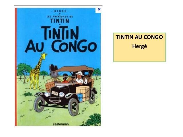 TINTIN AU CONGO  Hergé