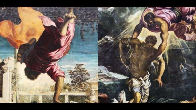 in 1548 Tintoretto was commissioned to paint a large decoration for the Scuola di S. Marco: The Miracle of the Slave the p...