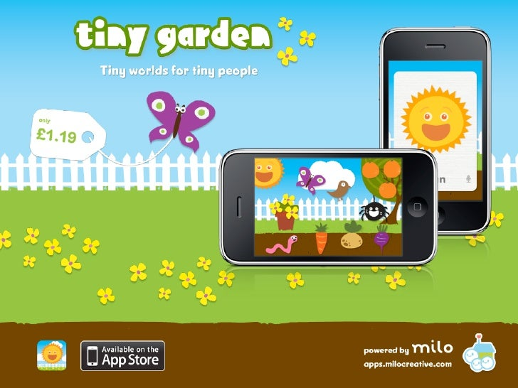 Tiny Garden is an educational game that delights and encourages children to explore the world around them - learning new w...