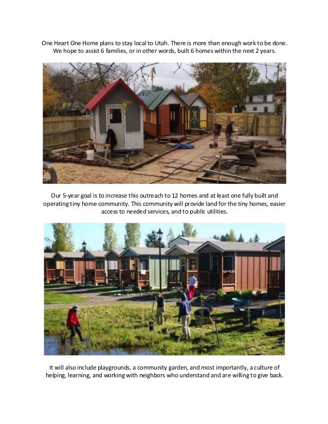 Tiny homes4thehomeless 1