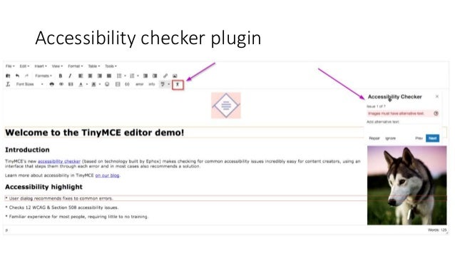 TinyMCE versions in Joomla • Joomla 1.0.0 (Sep 2005) – TinyMCE 2 0RC2 • Joomla 1.5.0 (Jan 2008) – TinyMCE 2.1.2 • Joomla 2...