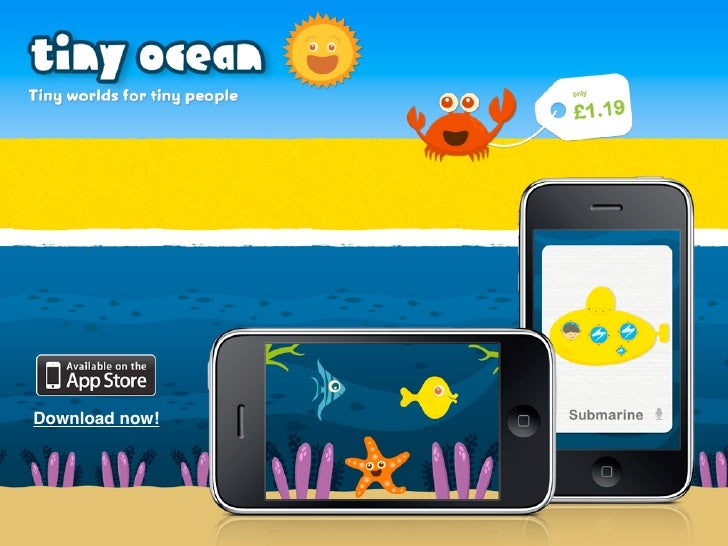 new iphone app tiny ocean helps children learn record first words. Black Bedroom Furniture Sets. Home Design Ideas