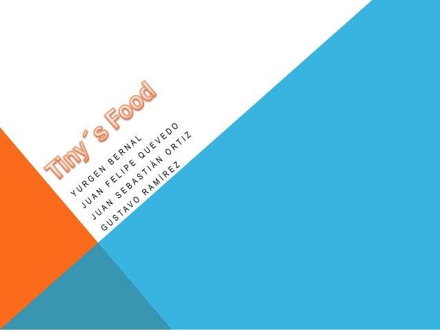 DATOS DEL SECTOR DE COMIDAS RÁPIDAS 22.340 compañías, que reveló recientemente la Superintendencia de Sociedades. las vent...
