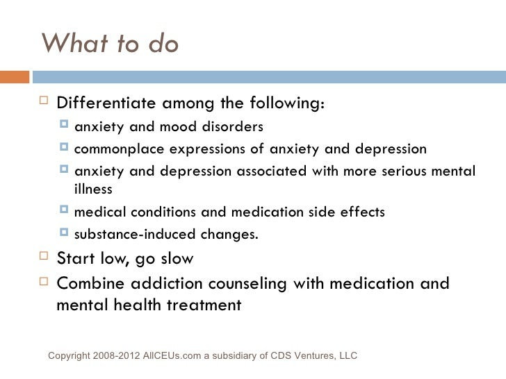 Tip42: Assessment and Treatment of Co-Occurring Disorders