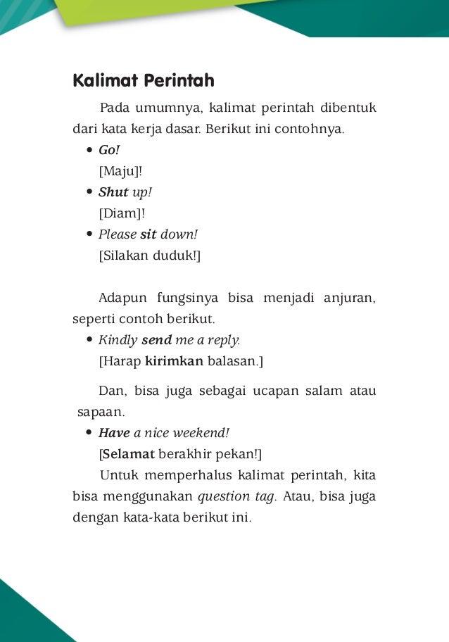 Tipe Tipe Kalimat Dalam Bahasa Inggris