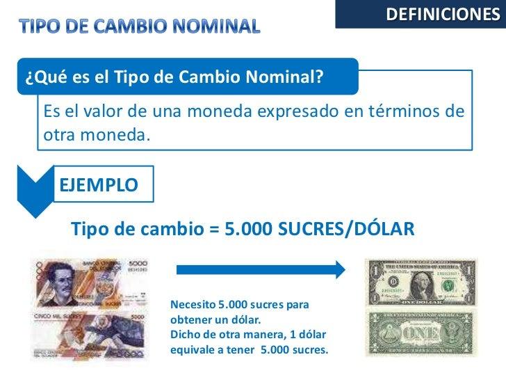 tasa de cambio venta dolar