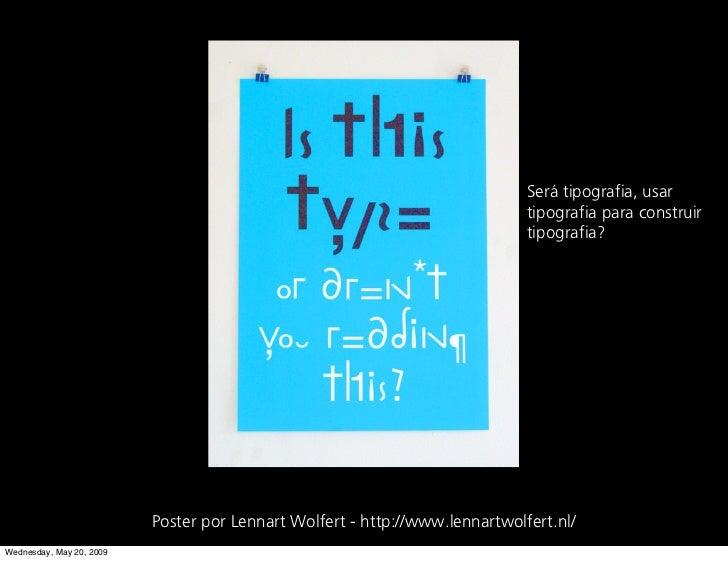 Será tipografia, usar                                                                              tipografia para constru...