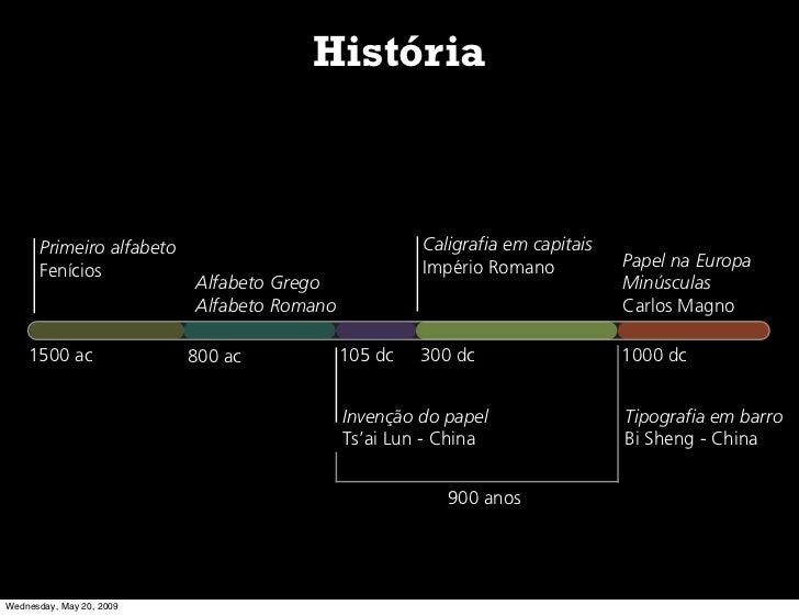 História          Primeiro alfabeto                              Caligrafia em capitais                                   ...
