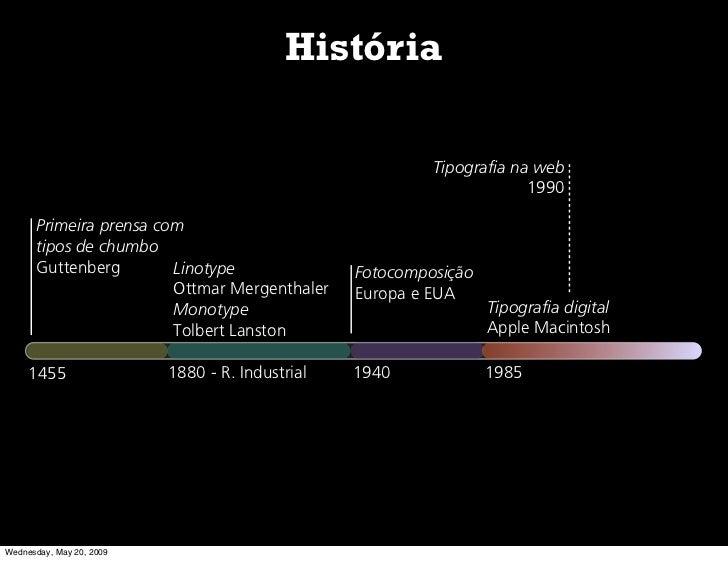 História                                                            Tipografia na web                                     ...
