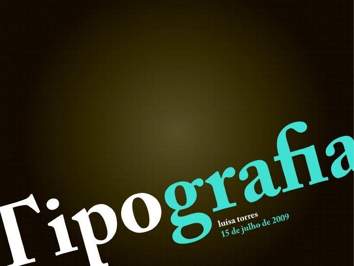No mundo repleto de mensagens que ninguém pediu para receber, a tipografia precisa chamar atenção para si própria e, ao me...