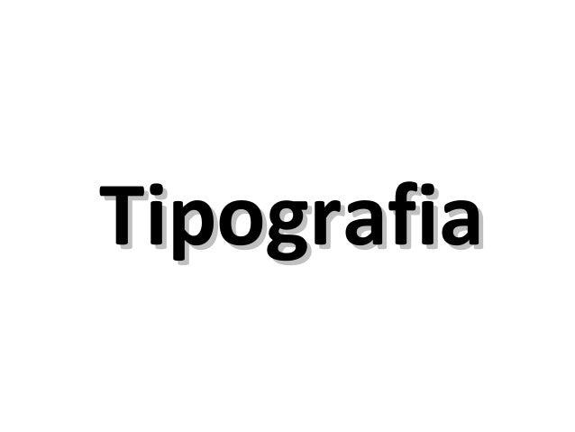 TipografiaTipografia