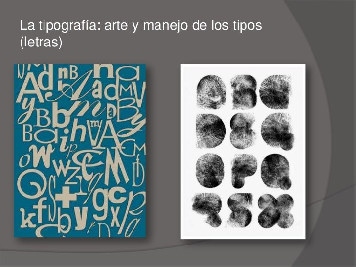 Tipografia Slide 2