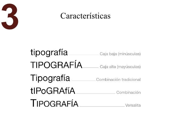 Características 3
