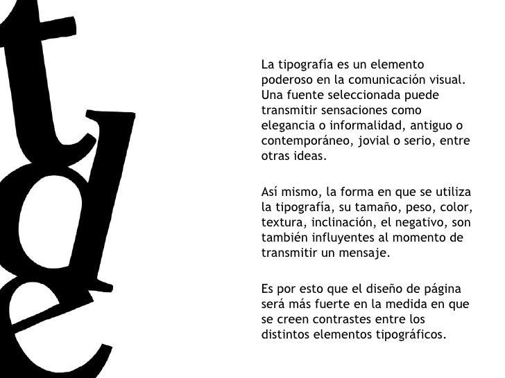 La tipografía es un elemento poderoso en la comunicación visual. Una fuente seleccionada puede transmitir sensaciones como...