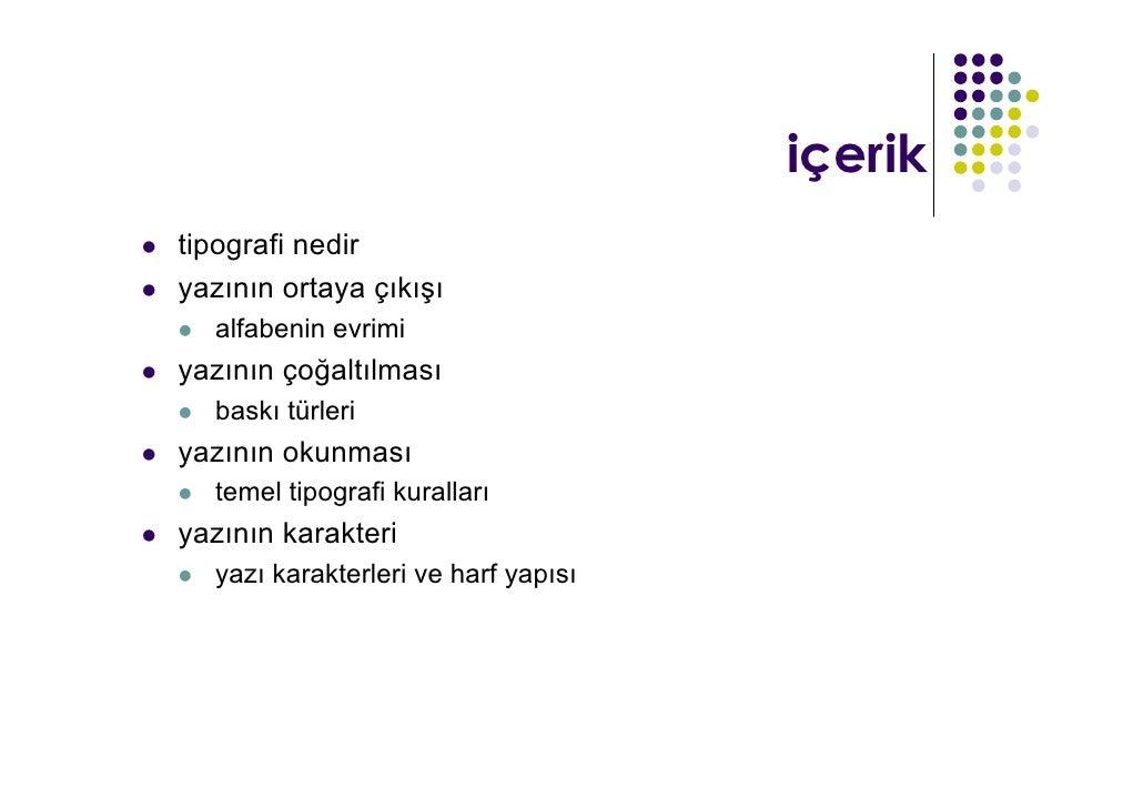 Emine Sarsılmaz - Tipografi  Slide 2