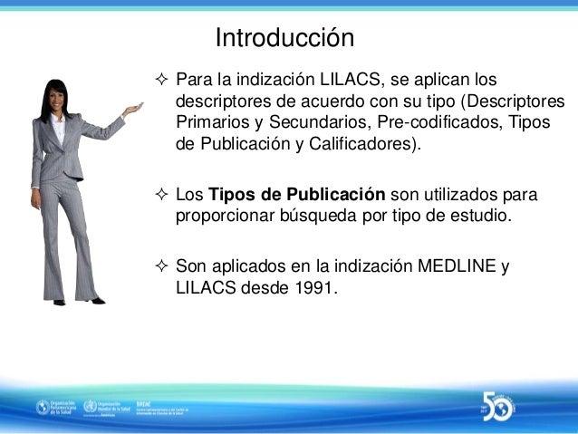 Sesión 4 de 10 - Uso de Tipos de Publicación en la indización LILACS Slide 3