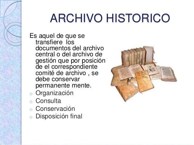 Gestion documental tipos de archivo for Que tiene una oficina