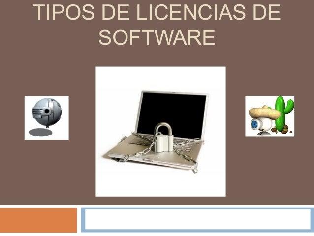 Tipos de licencias de software for Tipos de licencias para bares