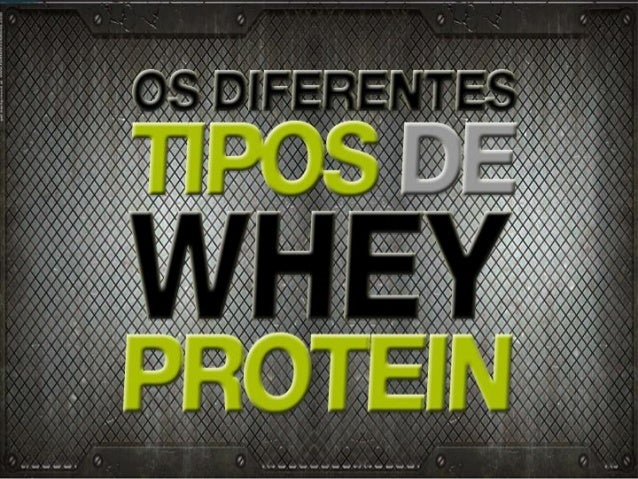 Conheça os diferentes tipos de Whey Protein