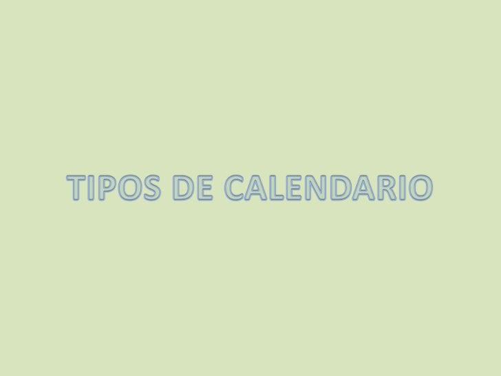 Tipos calendario pocoyo