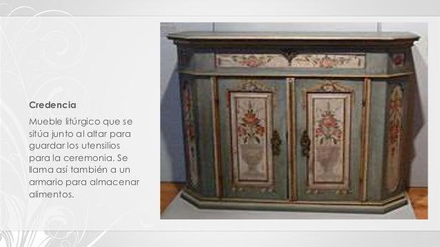 Tipos clasificaci n y estilos de muebles - Nombres de muebles antiguos ...