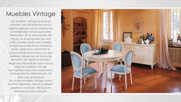 tipos, clasificación y estilos de muebles - Muebles De Diseno Vintage