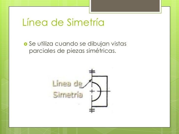 TIPOS DE LINEA