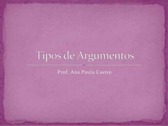 Prof. Ana Paula Castro