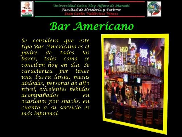 tipos de bares ForTipos De Licencias Para Bares