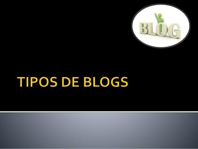 Debemos advertir de que existen tantos tipos de blogs como personas que los escriben. No es posible pontificar acerca de p...