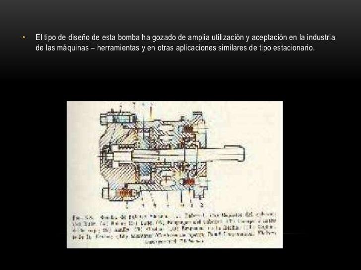 •   El tipo de diseño de esta bomba ha gozado de amplia utilización y aceptación en la industria    de las máquinas – herr...