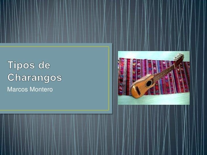 Marcos Montero