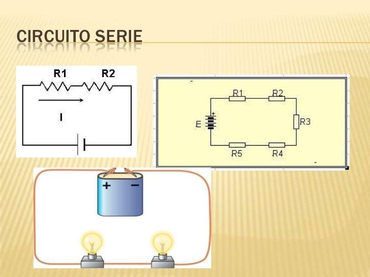 Circuito Serie : Tipos de circuitos eléctricos