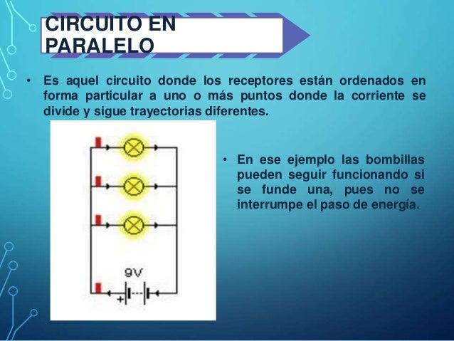 Circuito En Paralelo Ejemplos : Tipos de circuitos explicado con ejercicios