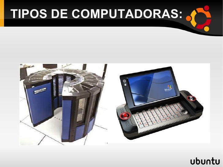 TIPOS DE COMPUTADORAS: <ul><li>RUBÉN GONZÁLEZ MARÍN  </li></ul>