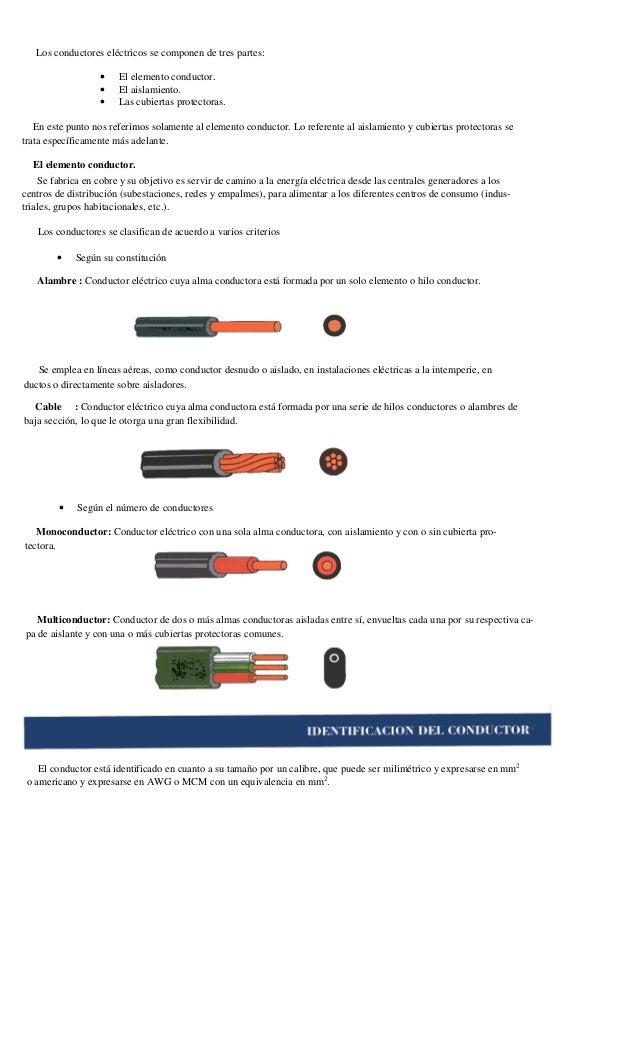 Tipos de aislamiento de cables eléctricos
