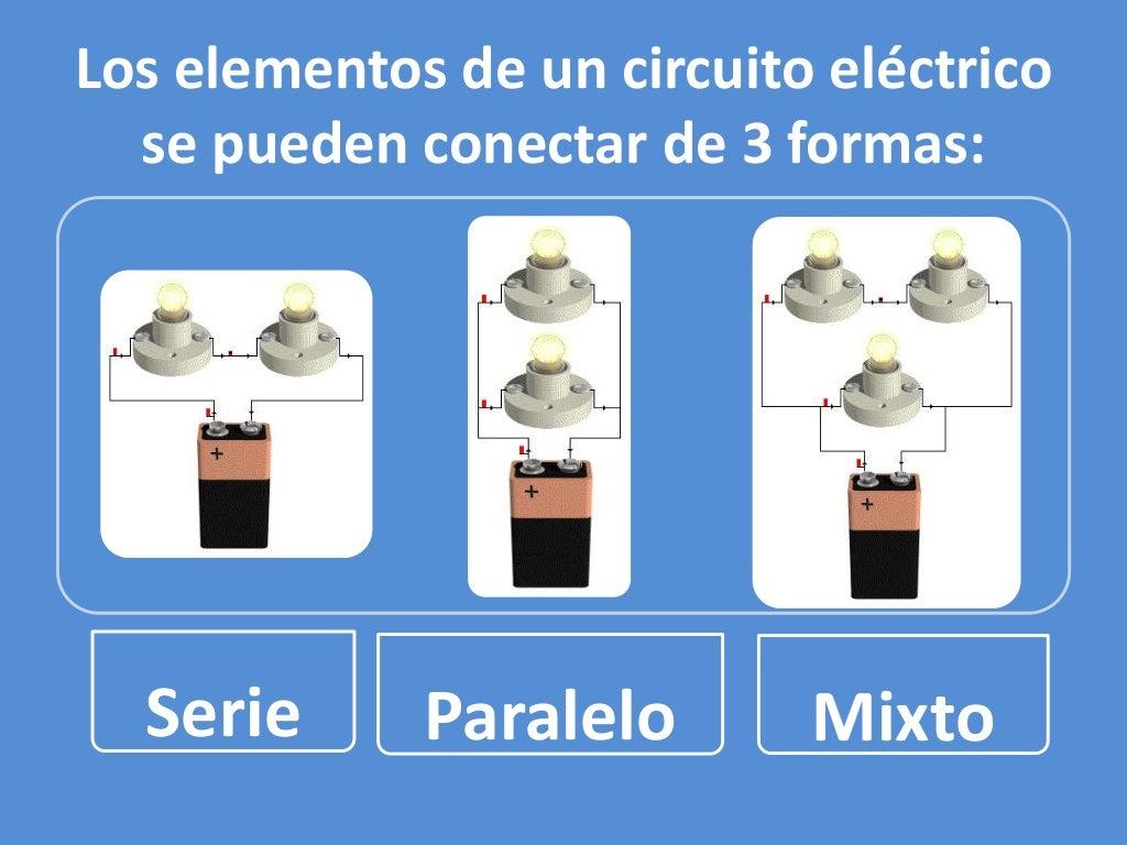 Circuito Seri E Paralelo : Tipos de conexiones en circuitos electricos