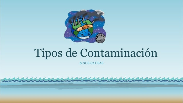 Tipos de Contaminación & SUS CAUSAS