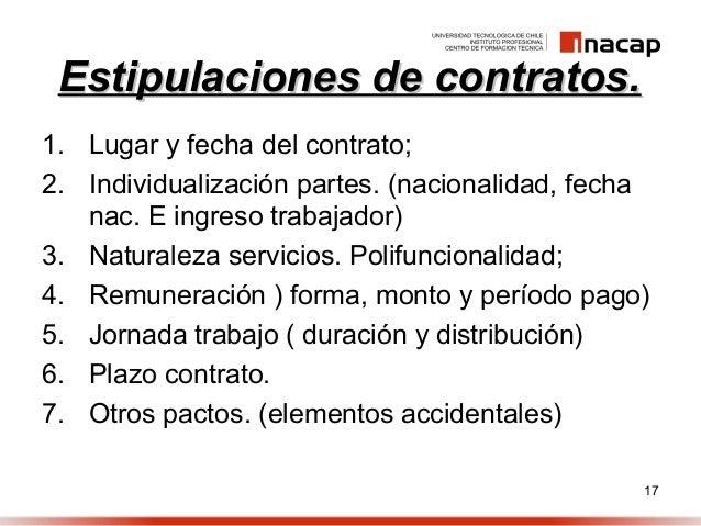Tipos de contrato Contrato de trabajo indefinido servicio hogar familiar