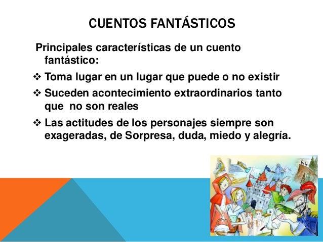 Tipos de cuentos for Cuales son las caracteristicas de un mural