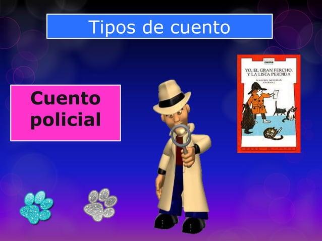 Tipos de cuento Cuento policial