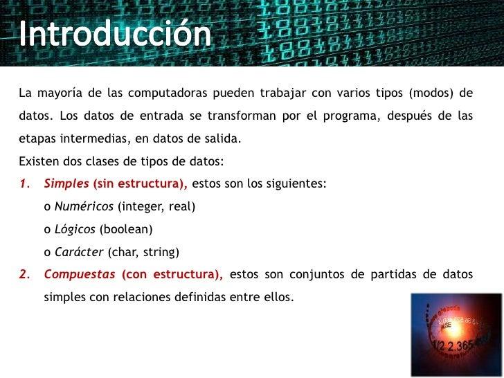 Tipos de datos Slide 2