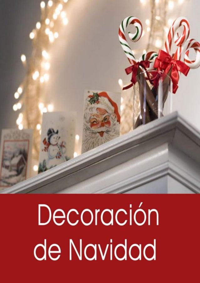 Tipos de decoraciones y adornos para navidad for Adornos navidad online