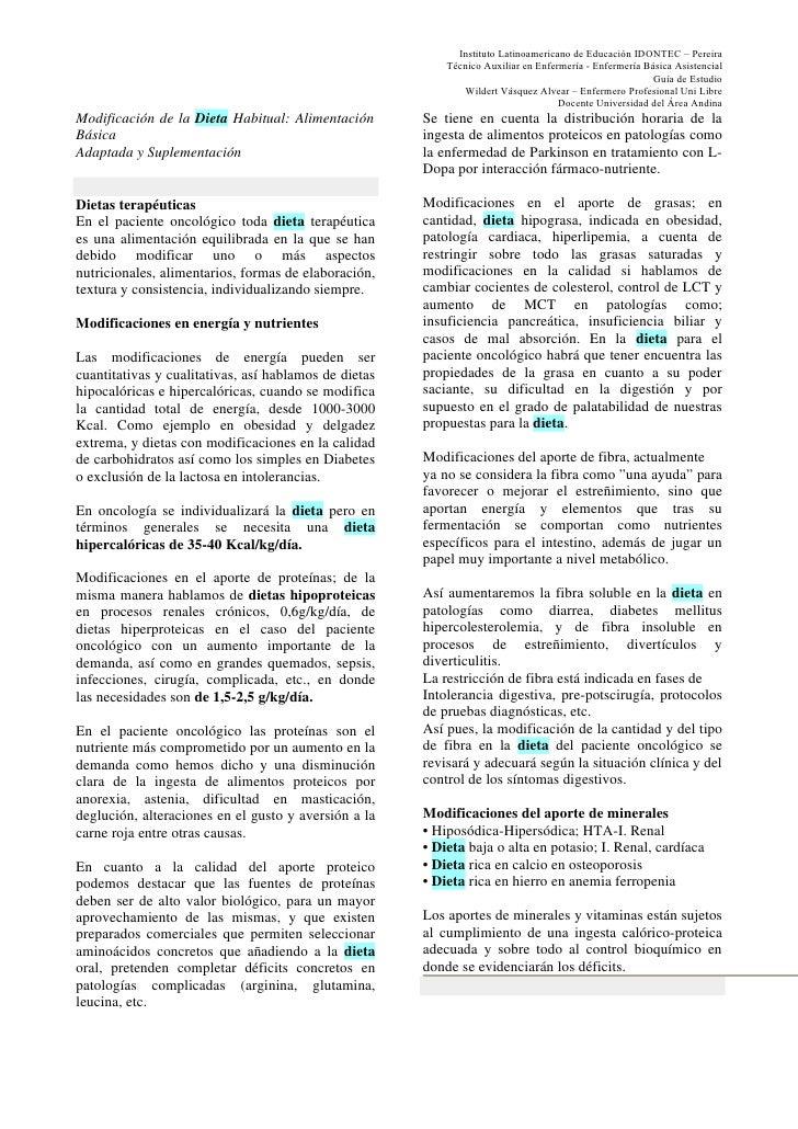 Instituto Latinoamericano de Educación IDONTEC – Pereira                                                            Técnic...
