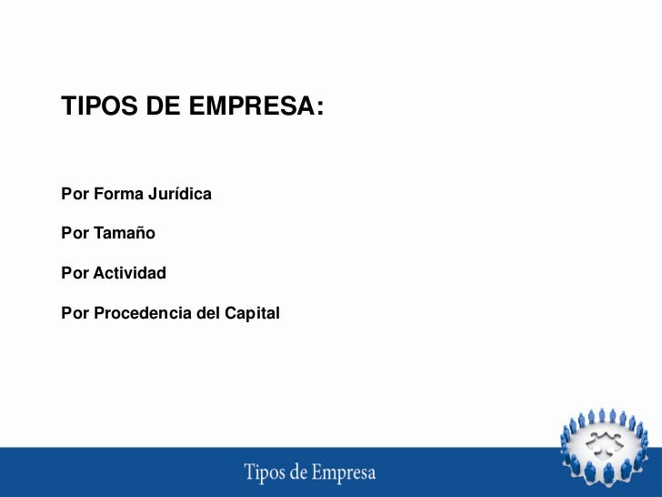 Tipos de empresa Slide 3