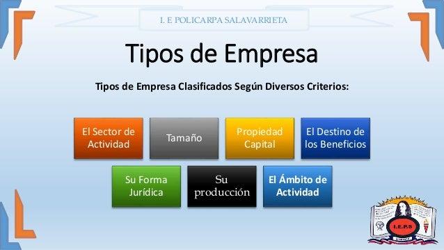 Tipos de empresa for Empresa de cubiertas y tejados