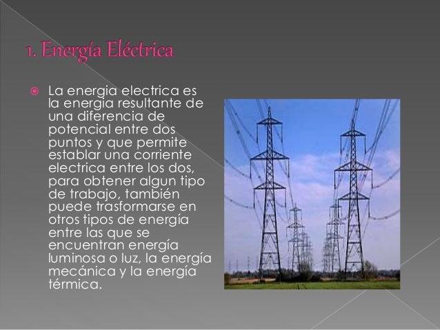 Tipos de energía Slide 3