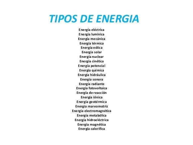Tipos de energia - Tipos de estores para salon ...