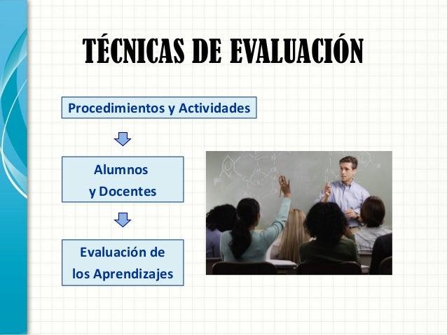 TÉCNICAS DE EVALUACIÓN 1º) No Formales 2º) Semi-formales 3º) Formales  De practica común en el aula.  No requieren de pr...