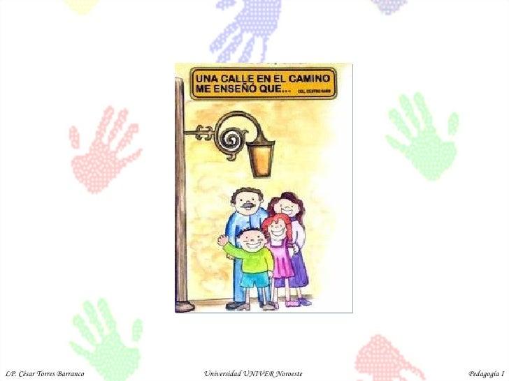 LP. César Torres Barranco  Universidad UNIVER Noroeste  Pedagogía I